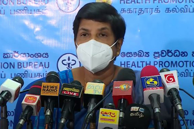Dr. Sudarshani requests Government to extend lockdown