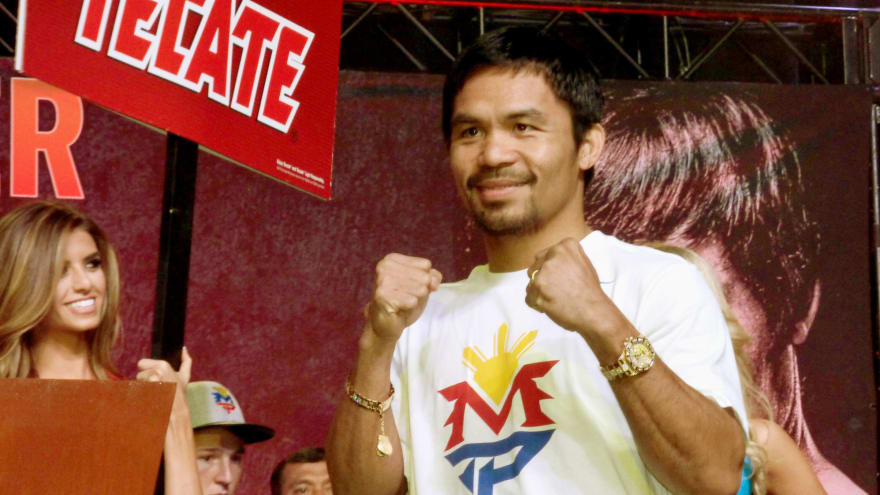 Boxing star to run for Philippines president