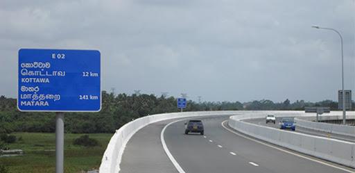 Kottawa Exit of Southern Expressway closed