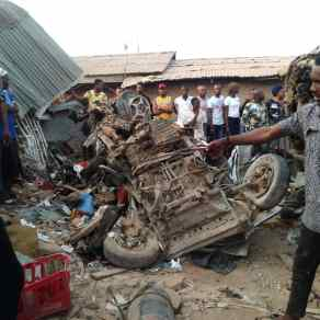 Image result for Updated: 10 killed, 4 injured in Iworoko Ekiti truck accident