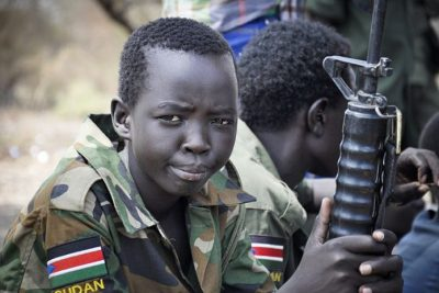 Not All 'Child Soldiers' Carry Guns, But All Need Support 1