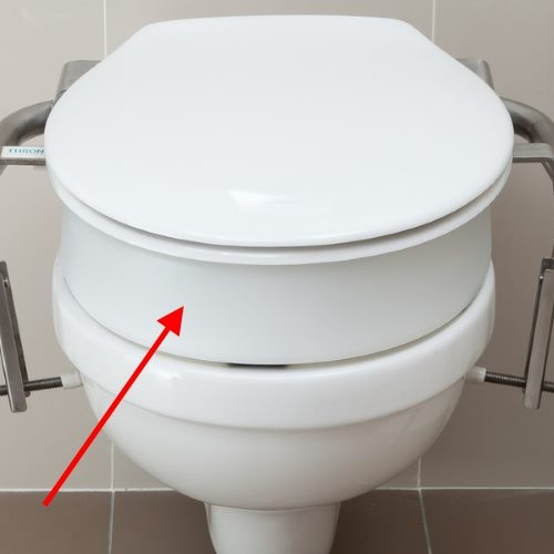 kitchen recycling bins places to buy tables throne accessories 80mm toilet seat spacer | independent 4 ...