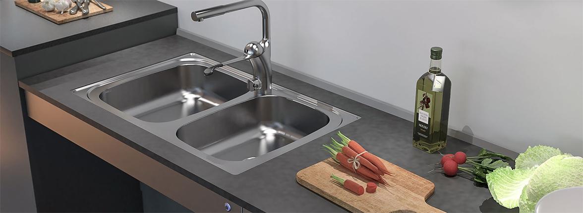 Shallow Kitchen Sink - Asmallnation