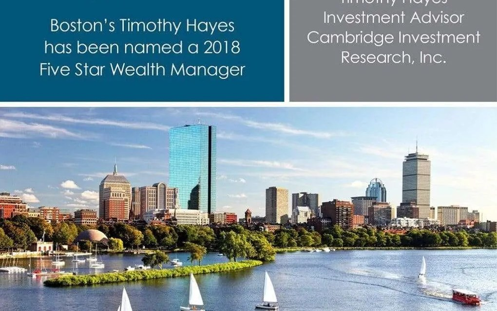 Tim Hayes Receives 2017 Boston Five Star Wealth Manager Award