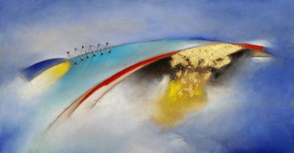 Carlo olper, Miraggio - 2017 - 62x32 cm