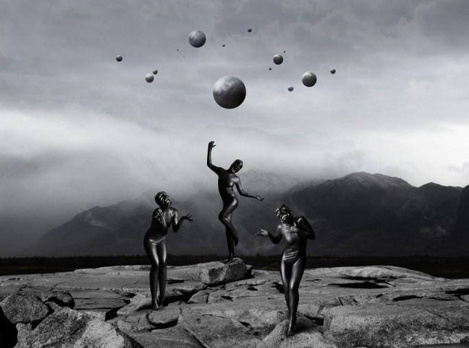 Stefano Bonazzi, tristano, 2018, digital composition printed on photographic fine art paper, framed, 110x90cm