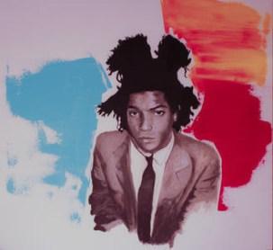 Lorenzo Zenucchini, Basquiat, 80x80cm, Acrilico, 2019