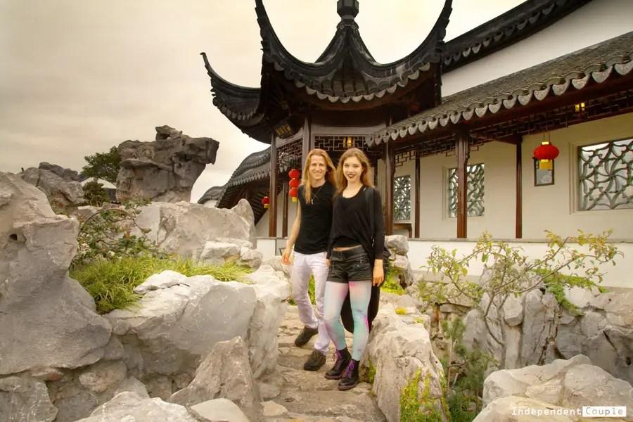 Chinese gardens in Dunedin