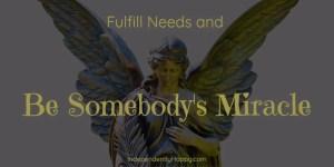 Fulfill Needs