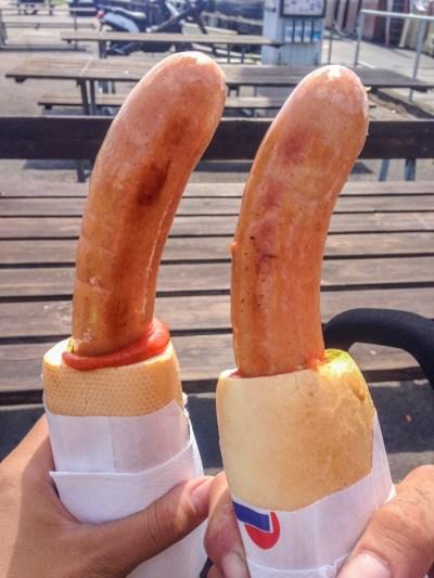 Denmark sausages sandwich independentpeople