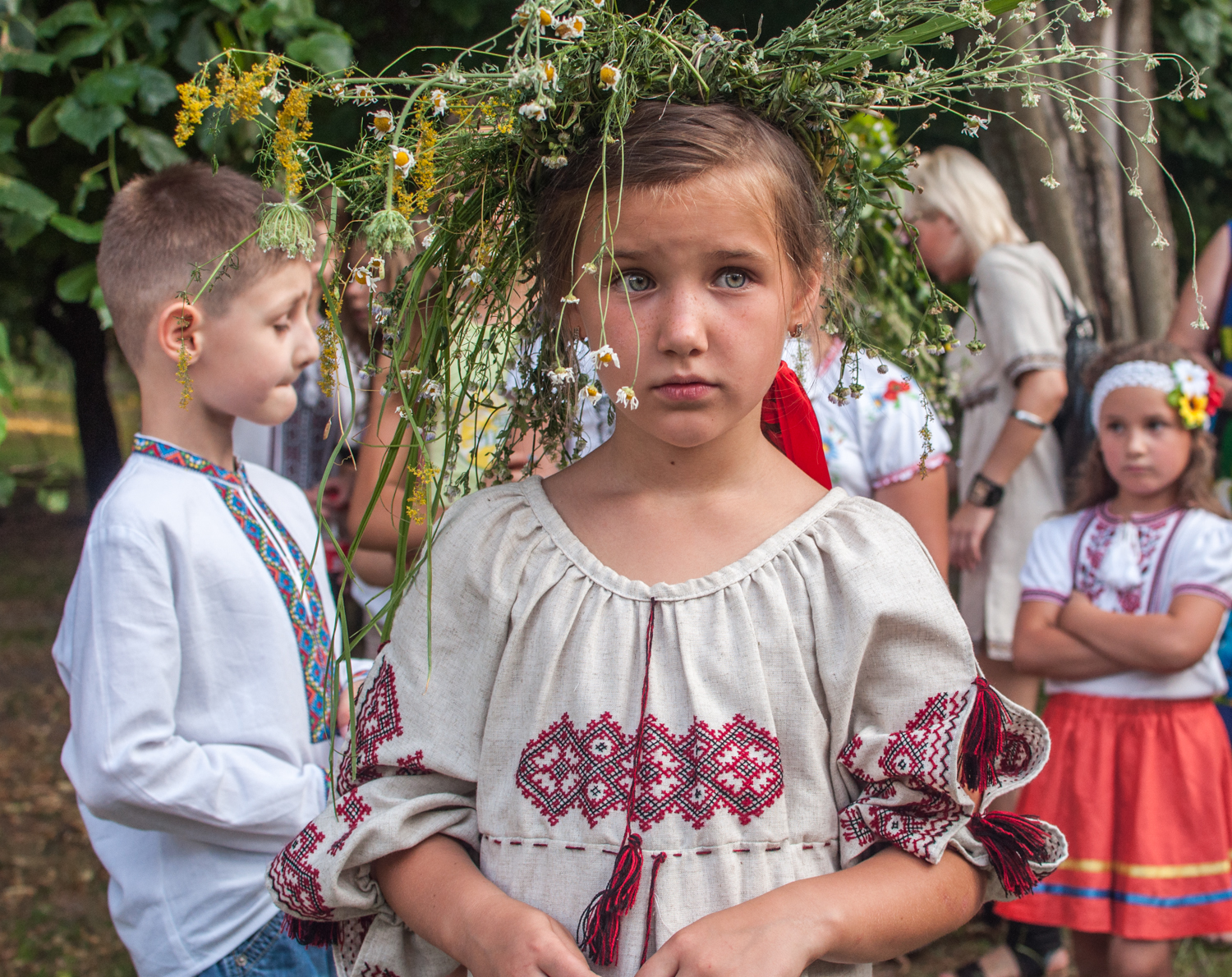 independent people ukraine tradition