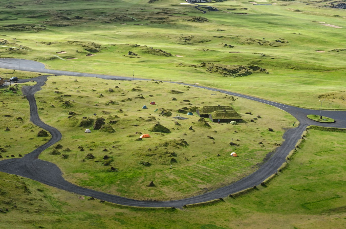 independent people how to cycle in iceland camping scenery