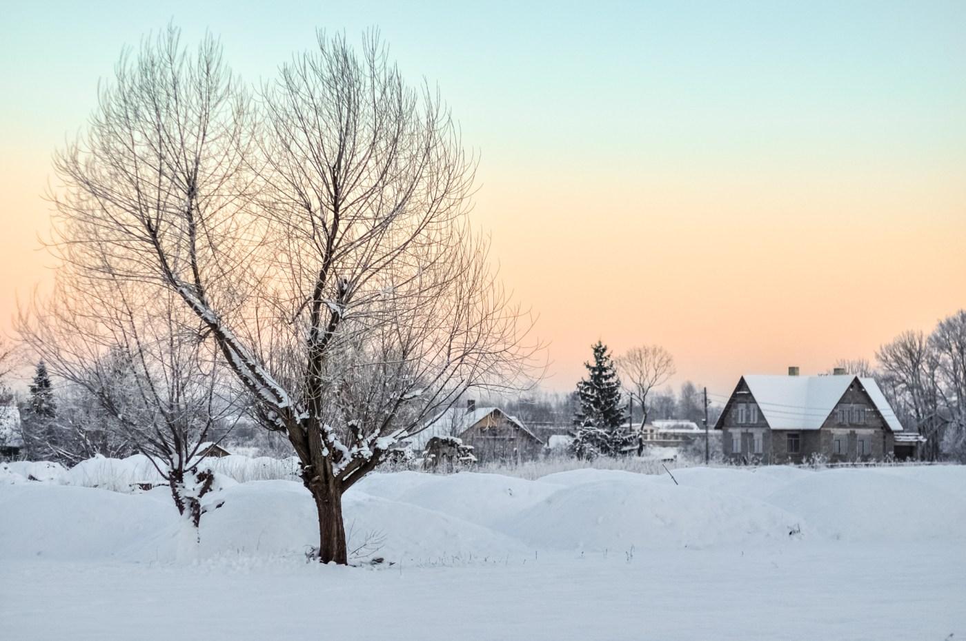 Postcards from Estonian winter!