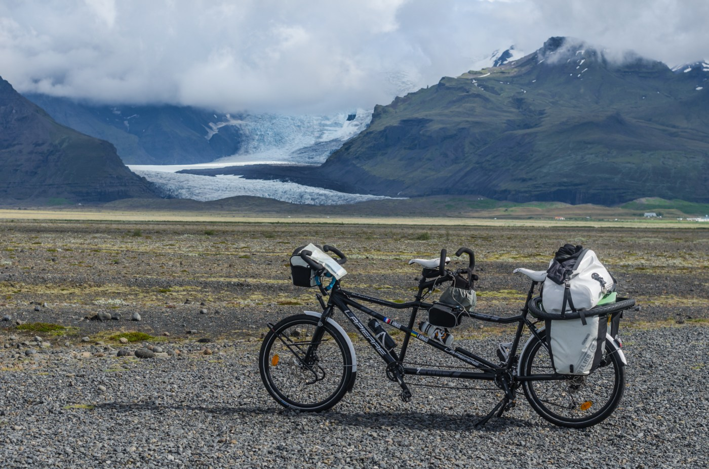 Cycling trip in Iceland