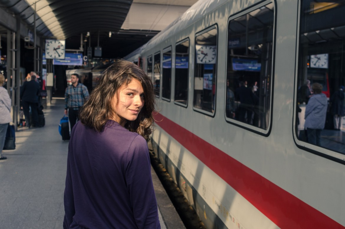 InterRail Train Itinerary