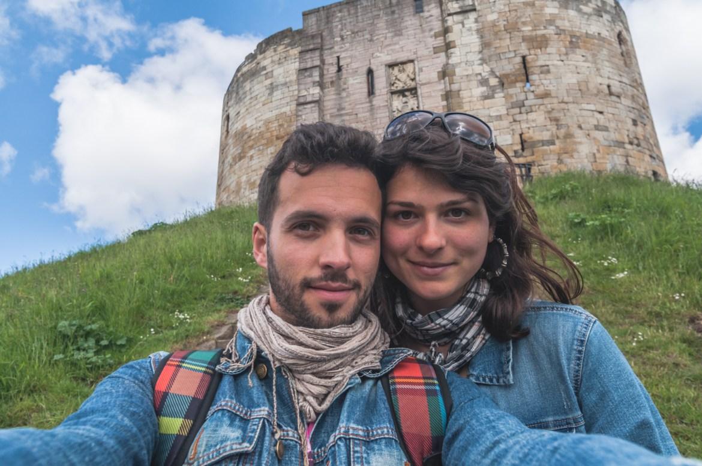 York Castle, selfie
