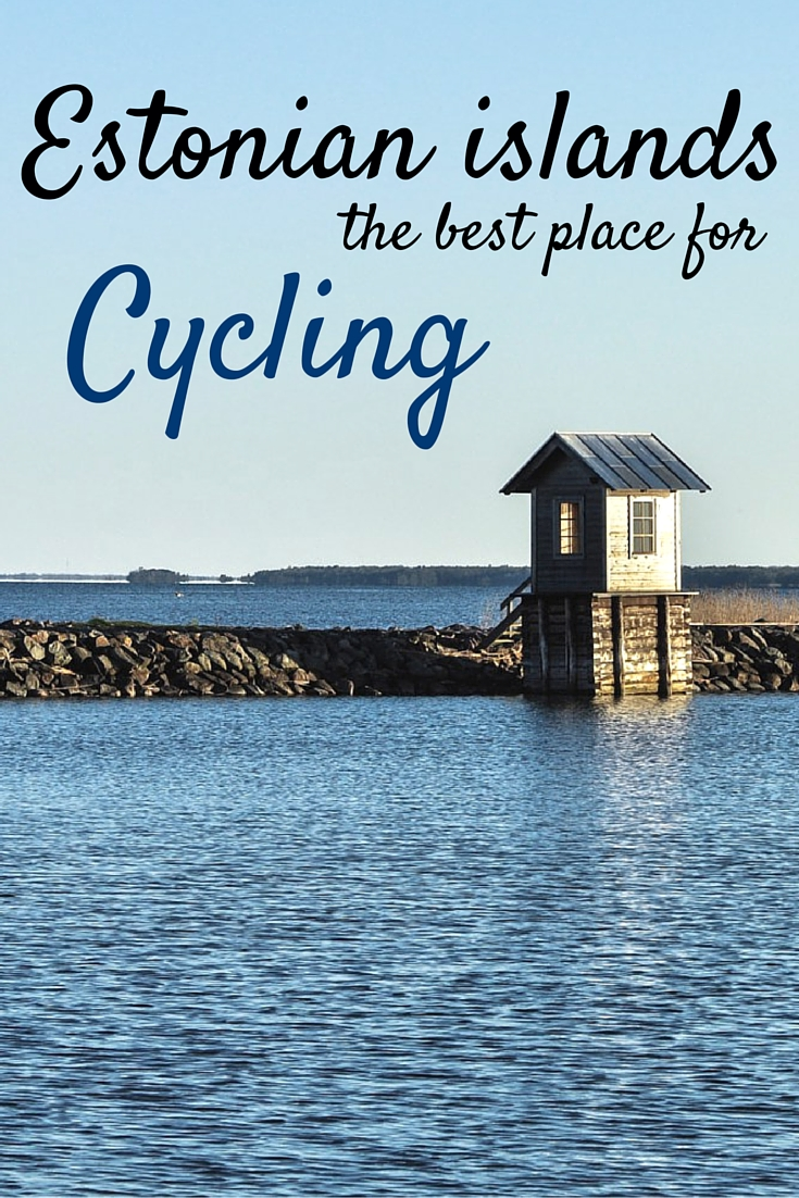 Estonian islands - best place for cycling ever