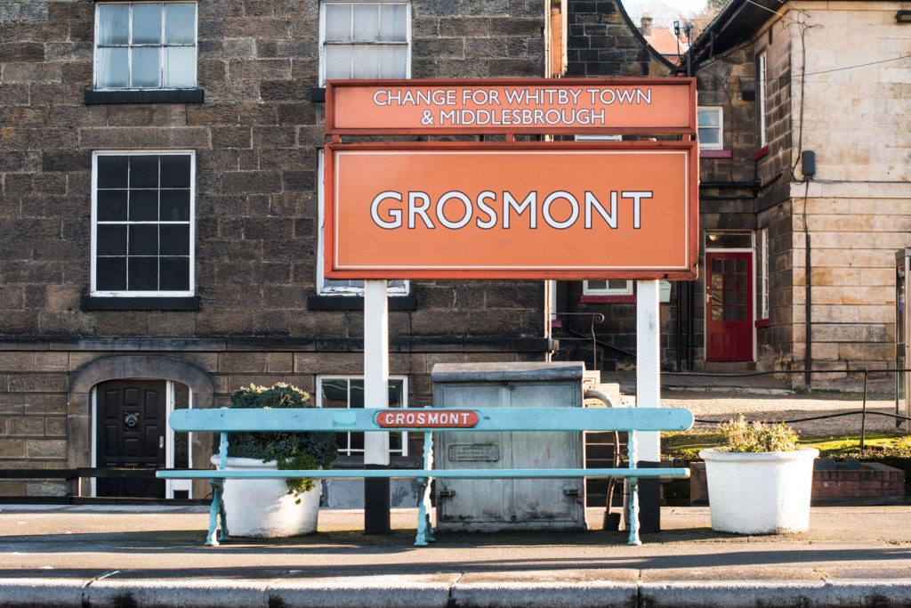 Grosmont - Goathland walking trail, England