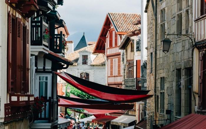 basque country south west saint jean de luz street
