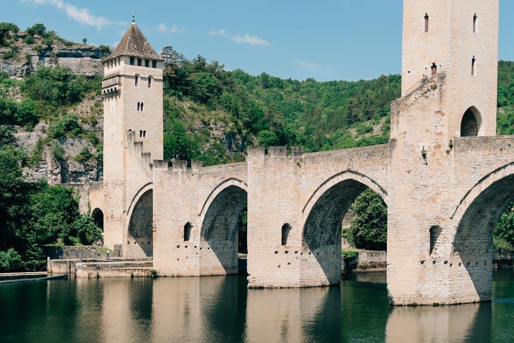 occitanie lot cahors bridge valentré
