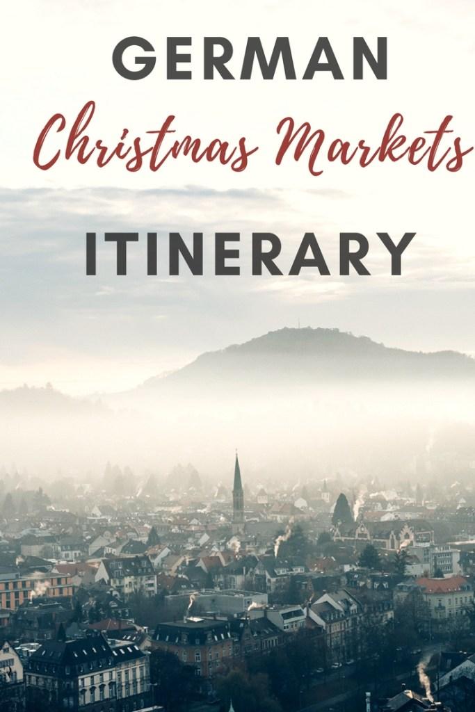 German Christmas Markets Itinerary