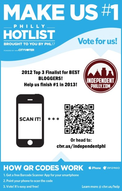 PHL 17 HOT LIST 2013 contest poster