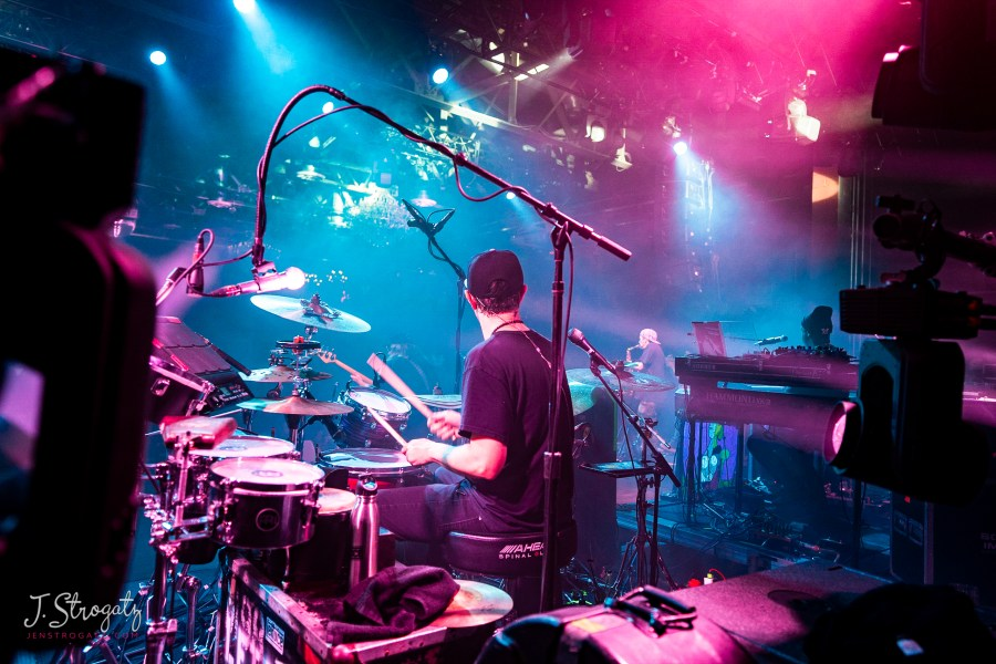 Lettuce performs live on stage at the Fillmore in Philadelphia. Photo by Jen Strogatz, jenstrogatz.com