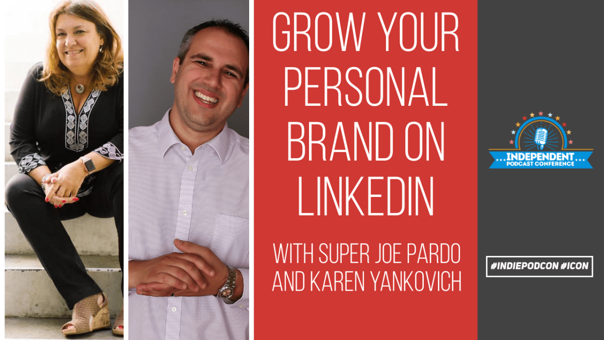 growing a personal brand with linkedin