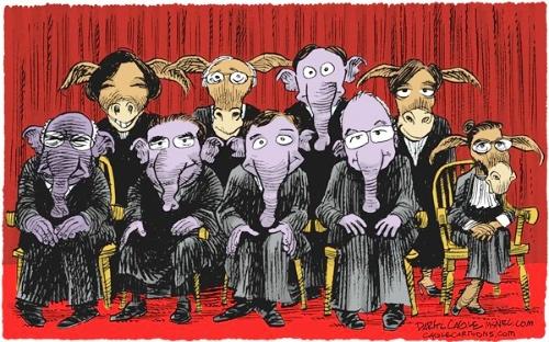 Image result for supreme court party politics