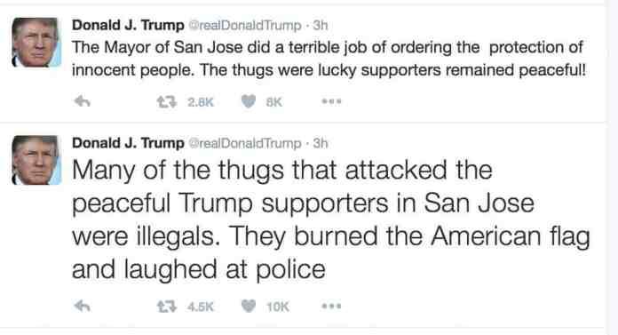 trump responses