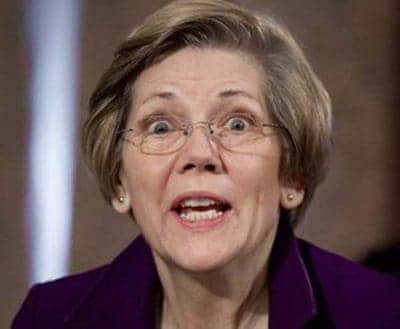file photo of unhinged Elizabeth Warren