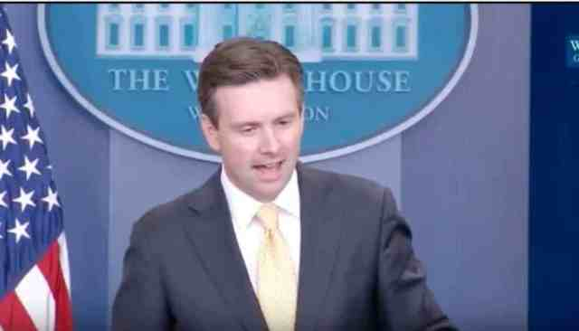 Josh Earnest at his last press briefing as White House spokesperson.