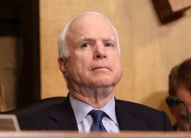 McCain Tells Senators to Not Vote for Gina Haspel