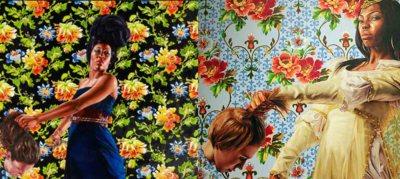 Kehinde Wiley beheading paintings