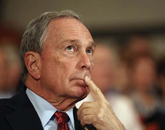 40 Sex discrimination suits against accused sexist pig Mike Bloomberg