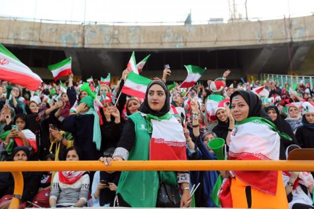 İran kadınlar futbol AFP.jpg