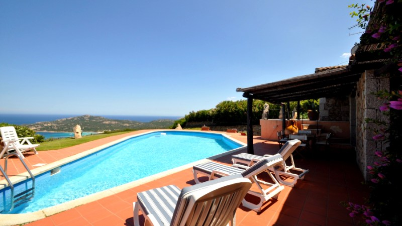 Villa Paradise Lux Costa Smeralda - emerald coast luxury villas - villa a louer de luxe