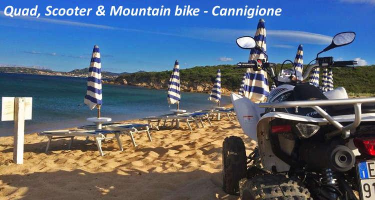 Sport costa smeralda quad scooter & mountain bike