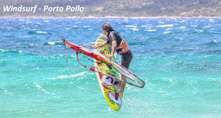 Sport in Costa Smeralda windsurf porto pollo