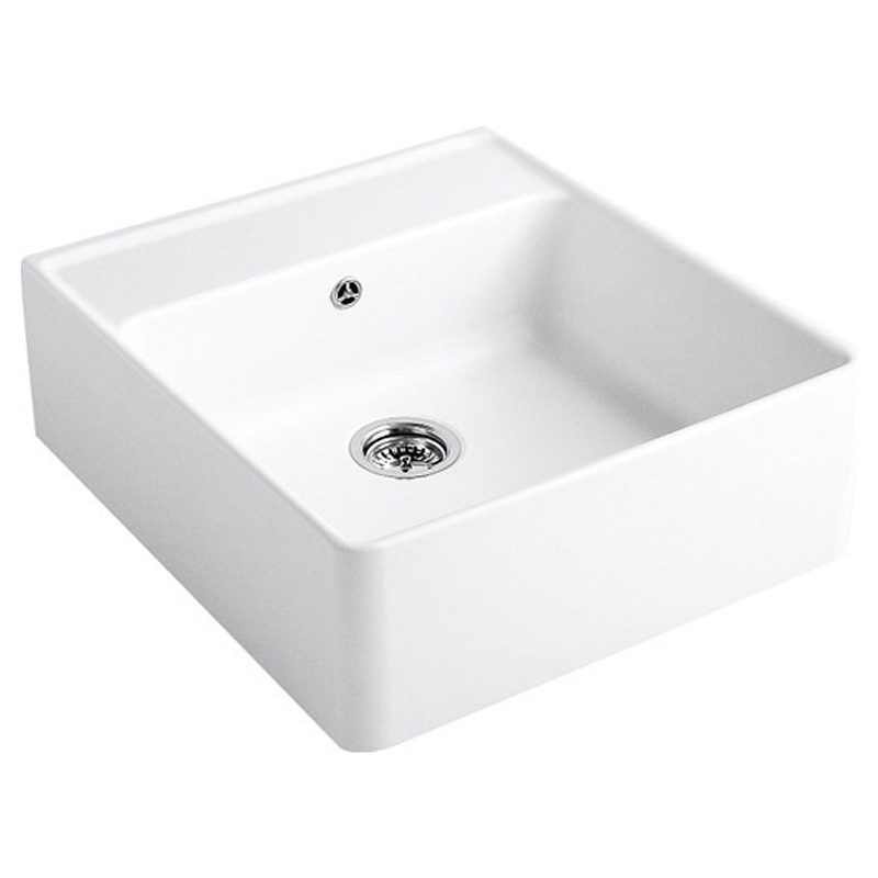 kohler kitchen sink accessories faucet clearance villeroy and boch butler 60 single bowl ceramic