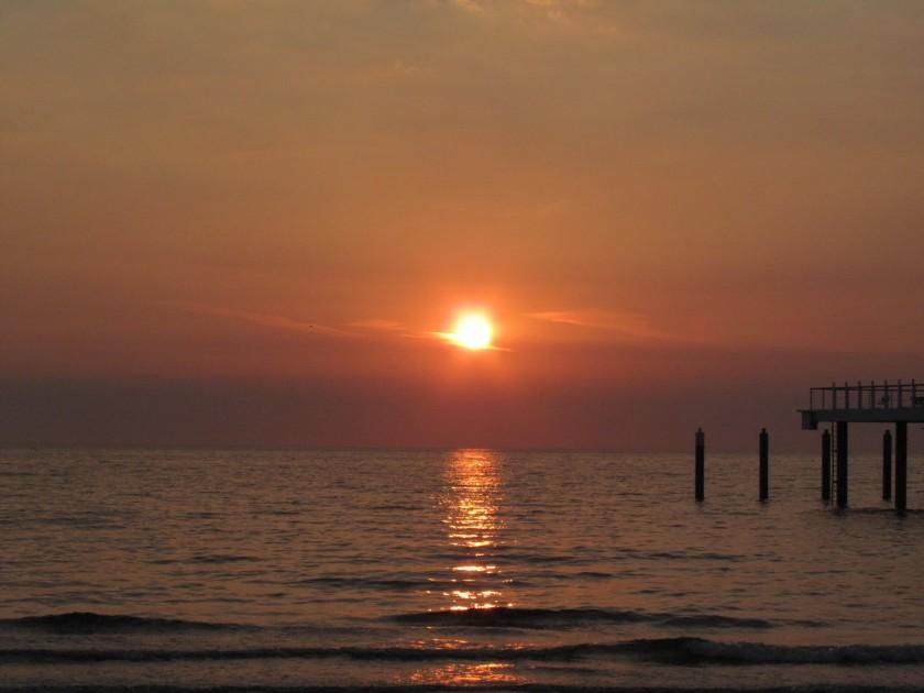 morgens am Meer
