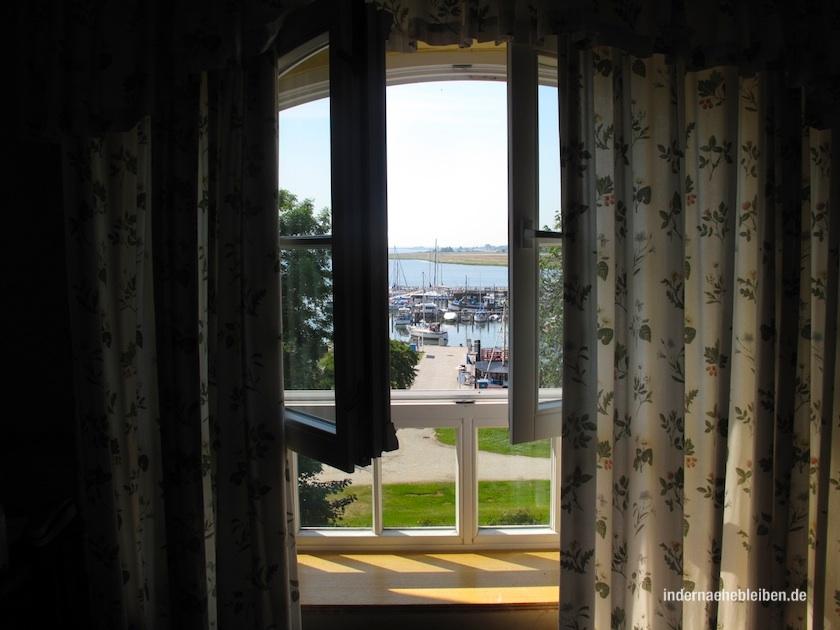 Blick aus dem Hotel Hithim