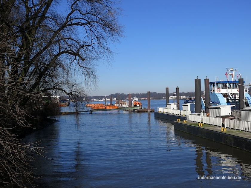 Anleger in Finkenwerder