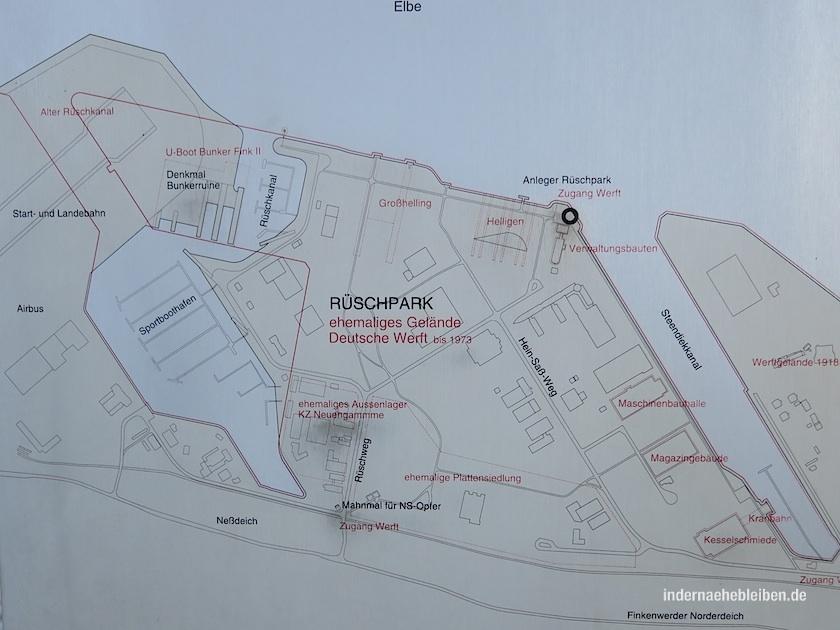 Rueschpark Plan