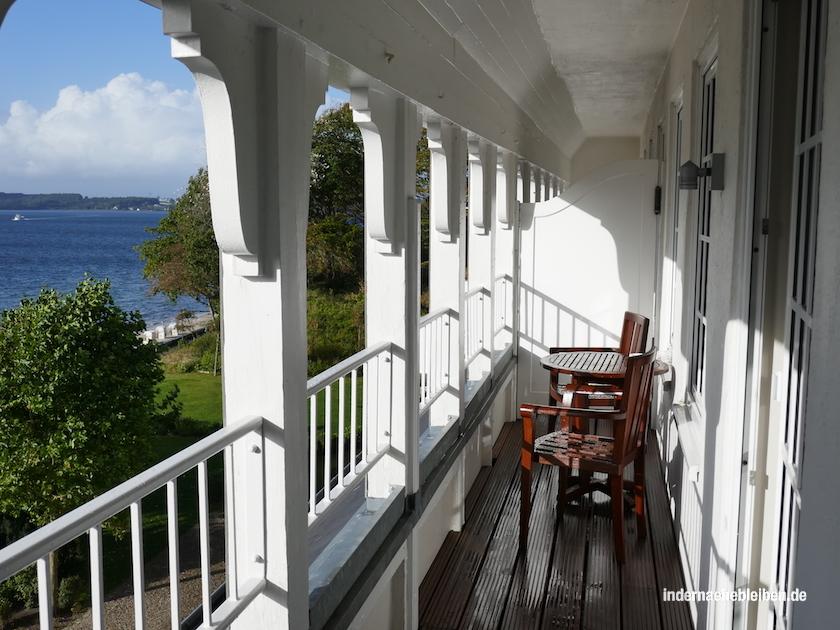 Balkon Strandhotel