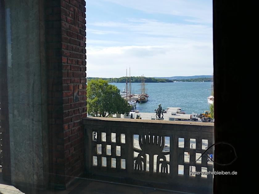 Balkon Rathaus Oslo