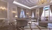 INDESIGNCLUB - Living Room interior design in elegant ...