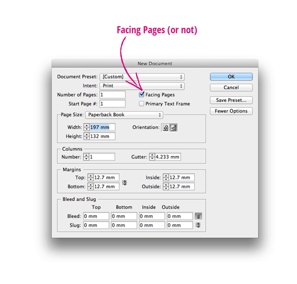 InDesign Basics  Create a New Document in InDesign  InDesign Skills