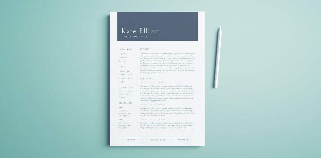 free resume guide template