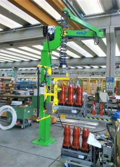 industrial manipulators for handling